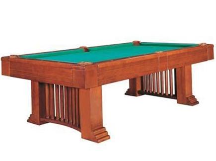 Le billard romance une table de grande taille - Taille table billard ...